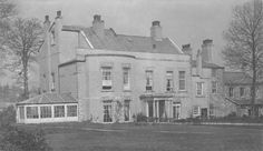 Bebington Old Hall, Cheshire - demolished c1955 for urban development.