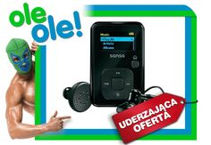 Odtwarzacz audio / MP3 SanDisk Sansa Clip  4GB