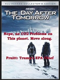 No CO2 Problem says Trump's EPA Head: All world scientists says he's bonkers  No CO2 Problem says Trump's EPA Head: All world scientists says he's bonkers Well I spent many years breeding tropical fish and raising aquatic plants as a hobby. The think I learned fast:  too much C02 produces Carbonic Acid in the aquarium:  it kills and dissolves calcium coral in the aquarium as well as The Great Barrier Reef  and it kills all: plants fish microbes fungi helpful bacteria  When I started raising…