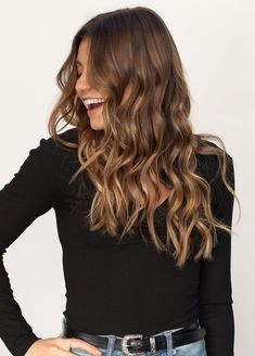 Ombre hair color for brunettes #haircolor #ombrehair