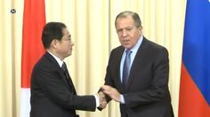 Joint News Conference with Lavrov and Kishida in Moscow