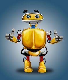 Concept toy robot