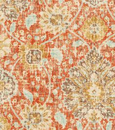 138 best Fabric Orange images on Pinterest | Home decor fabric, Soft ...