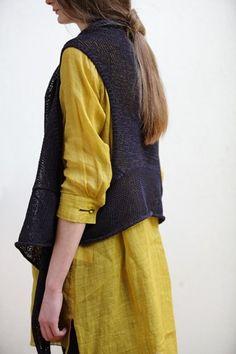 mixmind knit vest