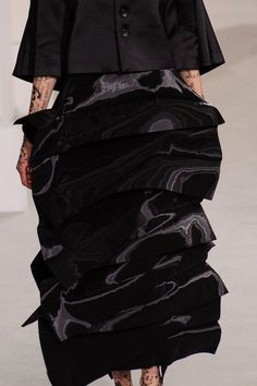 Junya Watanabe at Paris Fashion Week Fall 2015 - Details Runway Photos #parisfashionweeks,