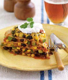 Mexican Lasagna - low fat!