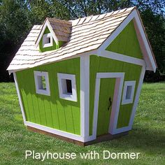 Topsy Turvy Playhouse and Rocking Horses in Play : Luxury Playhouses at PoshTots