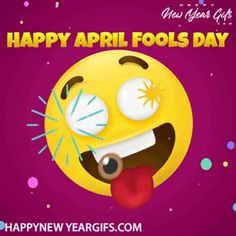 Happy April Fools Day Gif – 118 Girly Captions, April Fools Day, The Fool, Happy New Year, First Love, Gifs, Happy New Years Eve, Puppy Love, April Fools