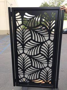 garden design ideas uk for a large garden Modern Steel Gate Design, Gate Designs Modern, Modern Garden Design, Contemporary Garden, Modern Design, Contemporary Design, Metal Garden Gates, Metal Gates, House Gate Design