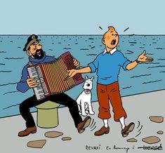 Tintin, Milu e Hadock Nathan Drake, Action Movies, Haddock Tintin, Tin Tin Cartoon, Herge Tintin, Comic Art, Comic Books, Ligne Claire, Detective