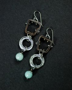 Pinned Cage Totem Earrings by MaggieJs on Etsy, $95.00