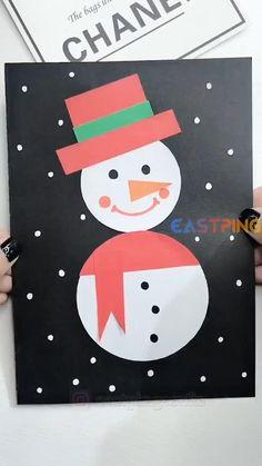 Preschool Christmas Crafts, Christmas Arts And Crafts, Diy Christmas Cards, Christmas Activities, Kids Christmas, Holiday Crafts, Creative Crafts, Inspired, Blog