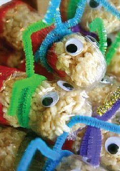 Rice Krispies Bookworms – Make your kids a special reading-themed snack. A great gift idea for teachers!