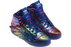 adidas ObyO Jeremy Scott JS Wings 'Rainbow Glitter'