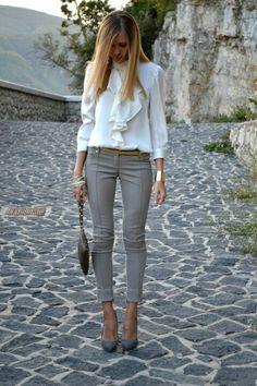 Dressy top:')