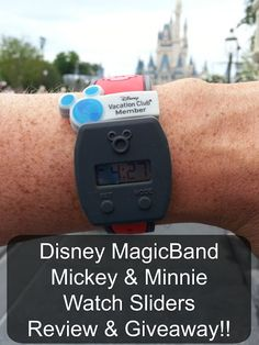 Magicband Watch Sliders Review & Giveaway | Home is Where the Mouse is
