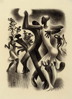 The Lindy Hop -Miguel_Covarrubias