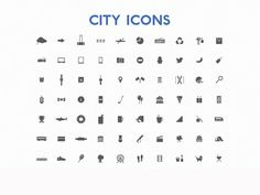 City Icons on UI Space