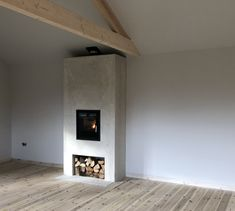 inset stove; thermal mass