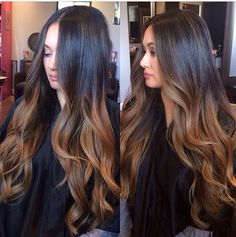 Caramel ombre                                                                                                                                                                                 More