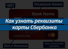В этой статье мы разберемся, как узнать реквизиты своей карты Сбербанка для переводов. #сбербанк #банк #bank Card Holder, Names, Rolodex