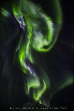 Aurora Marianne Bergli on February 17, 2018 @ Kvaløy,tromsø,Norway