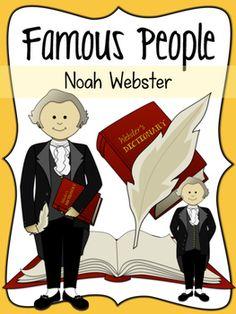 Noah Webster Social Studies Clipart                                                                                                                                                                                 Mais
