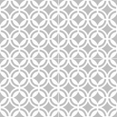 Tile/wall/stair decal/stickers : Geometric pattern 44 by Bleucoin