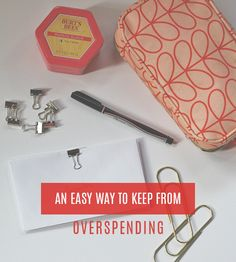 An Easy Way To Keep From Overspending — Laurie Cosgrove