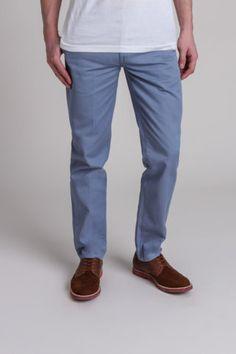 Grey-blue chinos