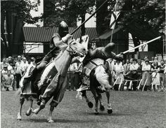 1983: Expect the unexpected in Bryant Park.  The New York Renaissance Fair stopped by the park in 1983.
