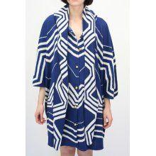 Ivana Helsinki Knitted Sailor Coat