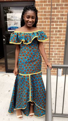 ng 🧚🧚🧚🧚🧚 Lace and Ankara dresses. African attire, Afr… from Diyanu Baby African Clothes, African Dresses For Kids, African Maxi Dresses, Ankara Dress, African Attire, African Wear, African Women, African Inspired Fashion, African Print Fashion