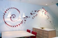 amazing and simple wall butterfly art