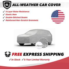 All-Weather Car Cover for 2008 Cadillac Escalade ESV Sport Utility 4-Door