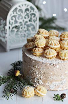 Illéskrisz Konyhája: ~ CITROMOS KEKSZ ~ Izu, Camembert Cheese, Panna Cotta, Food Photography, Candles, Cake, Ethnic Recipes, Christmas, Recipe Ideas