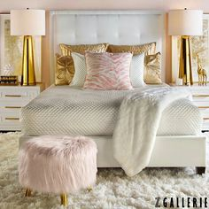 Style Guide: Black and Gold Bedroom Ideas | Gold bedroom ...