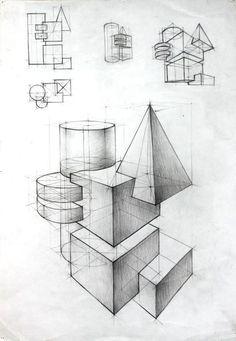 40 geometrische formzeichnungsideen 40 geometrische formzeichnungsideen The post 40 geometrische formzeichnungsideen appeared first on Architecture Diy.