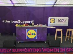 Before the demo! Having a great day working with @lidlireland & @td_fitness.ie offering #SeriousSupport to junior LGFA players.