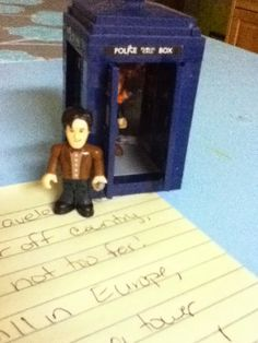 mama's little monkeys....: TARDIS on the Shelf and Traveling Through History with Doctor Who