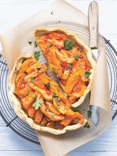 Tarte au potimarron - une recette Tarte salée - Cuisine | Le Figaro Madame