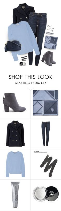 """Cashmere & jeans"" by muse-charming ❤ liked on Polyvore featuring Trilogy, Steve Madden, Tory Burch, Phase Eight, Weekend Max Mara, Equipment, Urban Decay, Chanel and Marc Jacobs"