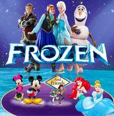 Disney On Ice Frozen, Next Week, Skating, Giveaways, Thursday, Christmas Ideas, Promotion, November, Princesses