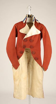 1790-1795 jacket, probably French, made of silk, The Metropolitan Museum of Art 1974.101.2