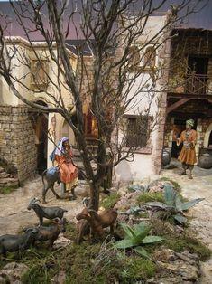 Fotos Glorieta 2011 – Asociación Belenistas de Elche All Things Christmas, Bethlehem, Portal, Crafts, Painting, Holidays, Window Boxes, Paper Houses, Births