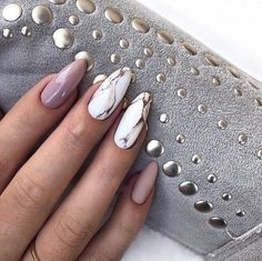 Manicure for Long Nails Fashion Innovations in the Design for Long Na. Manicure for Long Nails Marble Nail Designs, Almond Nails Designs, Long Nail Designs, Acrylic Nail Designs, Art Designs, Design Art, Coffin Nails Long, Long Acrylic Nails, Long Nails