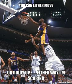 I don't like basketball, but this is funny! #basketballmemes