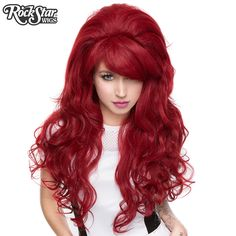Gothic Lolita Wigs® <br> Countess™ Collection - ROUGE (Burgundy Mix) -00150