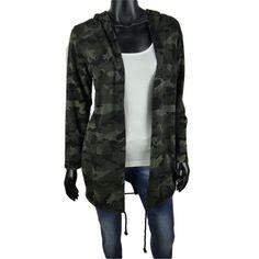 Dames vest met camouflage print en capuchon  25-  #Beverwijk #Heemskerk #IJmuiden #Velsen #fashion #happy #follow #cute #followme #like #instacool #nofilter #style #sweet #fashionable #hot  #webshop #fashioncheque #vvv #nieuwecollectie