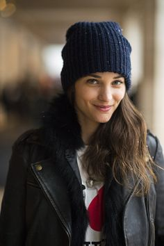 Beanies are one of the best parts of Fall fashion!  Cozy and so easy.